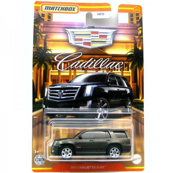 Matchbox   Cadillac Serie #01 2015 Cadillac Escalade black