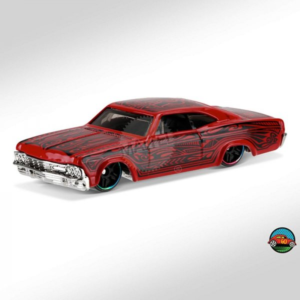 Hot Wheels | 65 Chevy Impala red