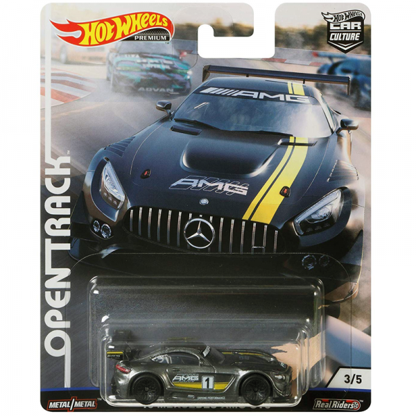 Hot Wheels | Open Track Mercedes Benz AMG GT3 AMG