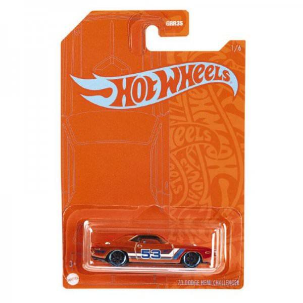 Hot Wheels | Orange & Blue 1970 Dodge Hemi Challenger