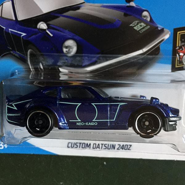 Hot Wheels | Custom Datsun 240Z blaumetallic
