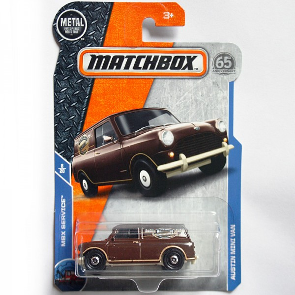 Matchbox | Austin Mini Van Chocolate Royal US