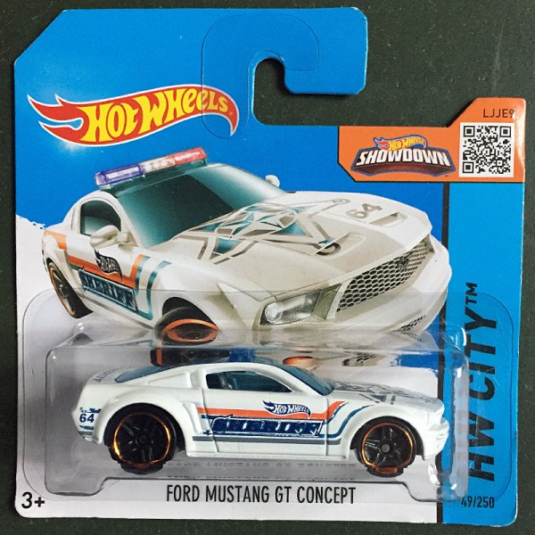 Hot Wheels | Ford Mustang GT Concept Sheriff weiß