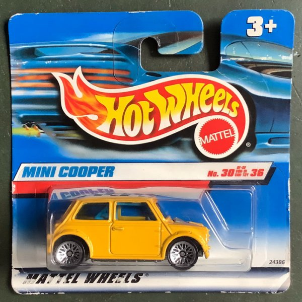 Hot Wheels | Mini Cooper gelb First Editions