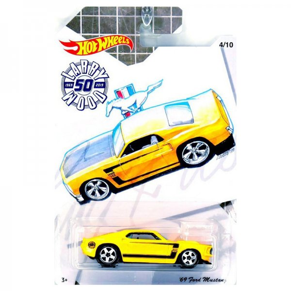 Hot Wheels | Larry Wood 50 Years of Design '69 Ford Mustang