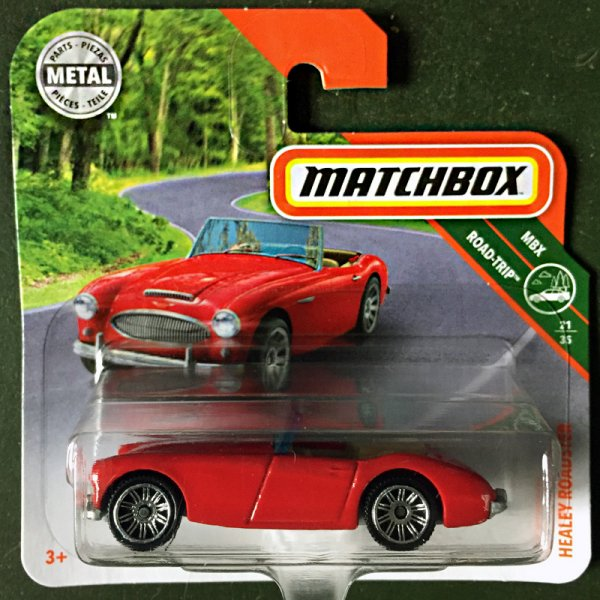 Matchbox | '63 Austin Healey Roadster red