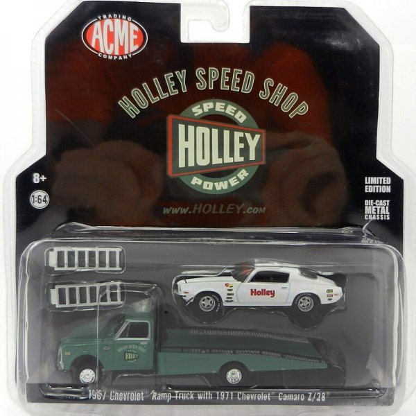 ACME | Holley Performance 1967 Chevrolet Ramp Truck & 1971 Chevrolet Camaro