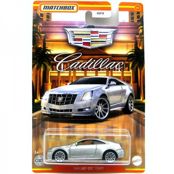Matchbox | Cadillac Serie #02 Cadillac CTS Coupe silber