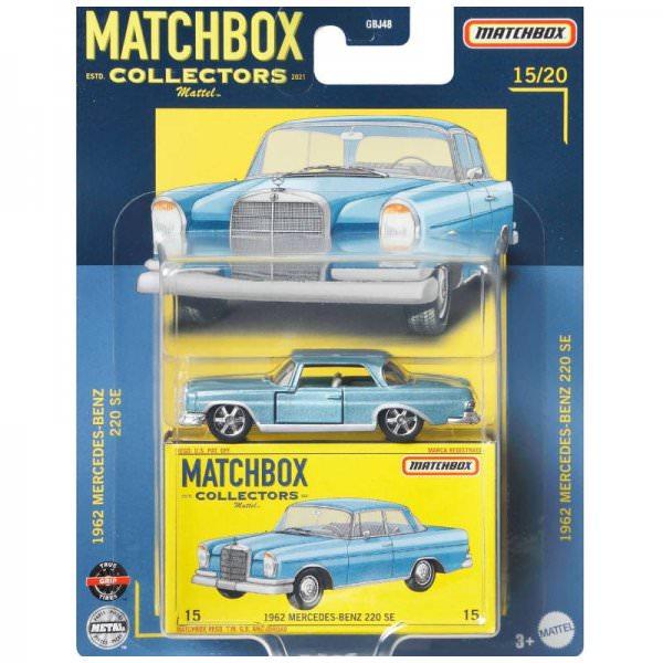 Matchbox | Collectors Series 15/20 1962 Mercedes-Benz 220 SE light blue metallic