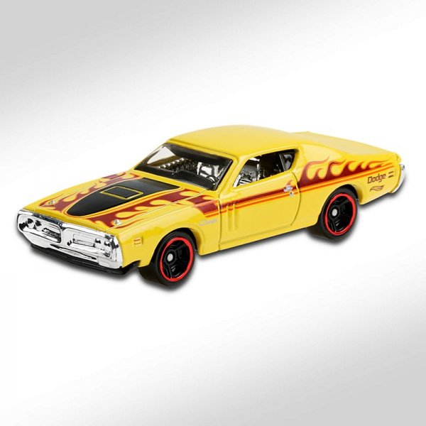 Hot Wheels | '71 Dodge Charger gelb