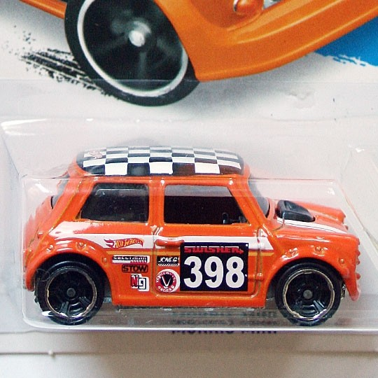 Hot Wheels | Morris Mini #398 orange 2