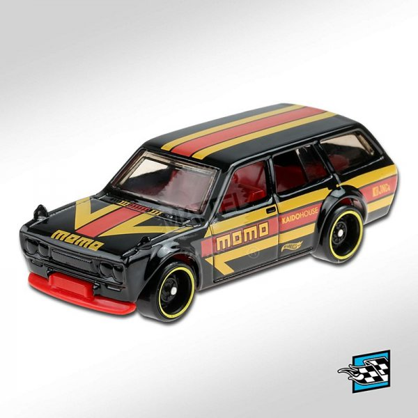 Hot Wheels | Datsun Bluebird Wagon 510 MOMO schwarz