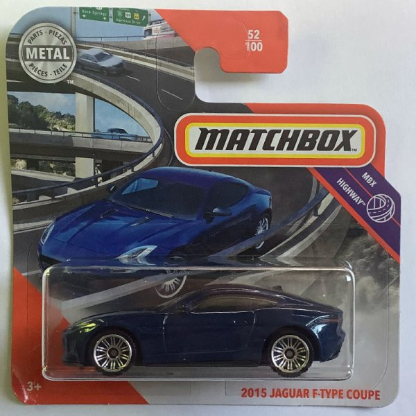 Matchbox | 2015 Jaguar F-Type Coupe blaumetallic