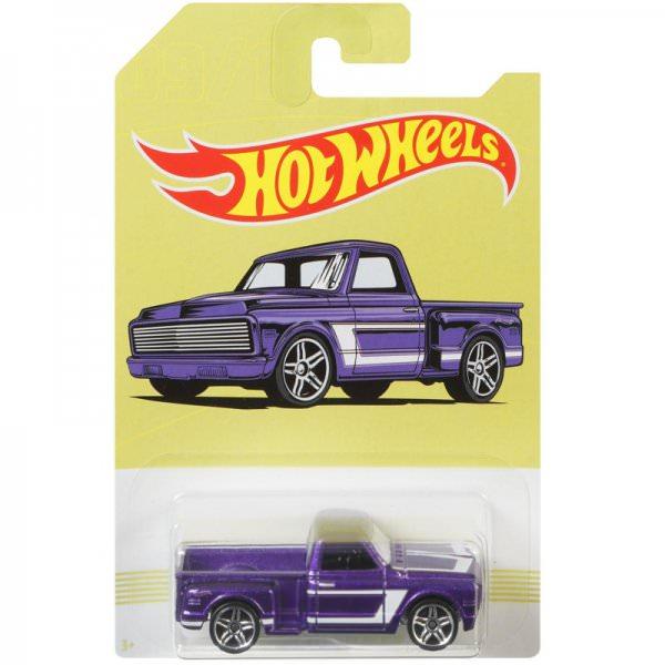Hot Wheels | 09 Purble Custom '69 Chevrolet Pickup American Pickups Walmart Series