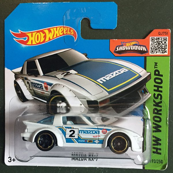 Hot Wheels | Mazda RX-7 #2 weiß