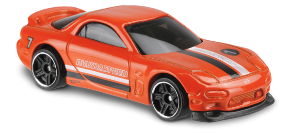 Hot Wheels | '95 Mazda RX-7 orange