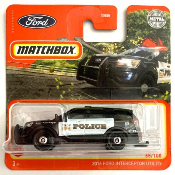 Matchbox | 2016 Ford Interceptor Utility POLICE