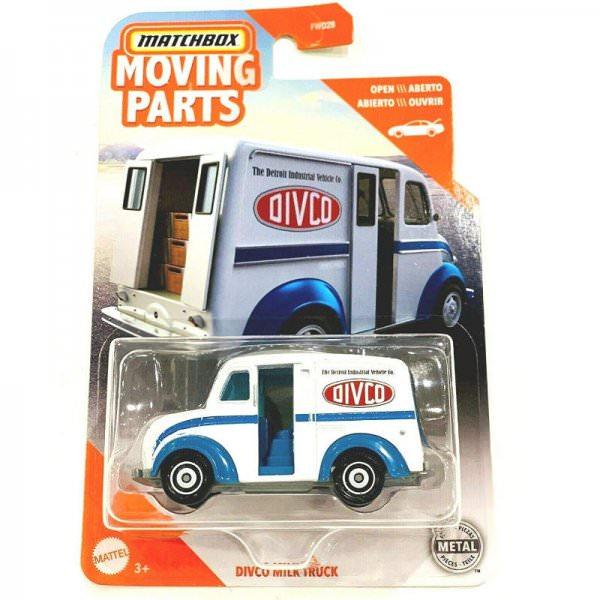 Matchbox  1948 Divco Milktruck weiß Moving Parts Serie