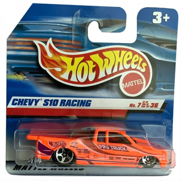 Hot Wheels | Chevy S10 Racing PRO TRUCK daly-glo orange