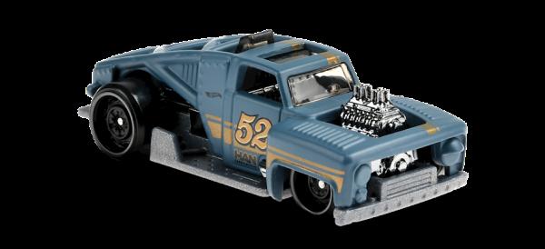 Hot Wheels | Erikenstein Rod #52 matt graublau