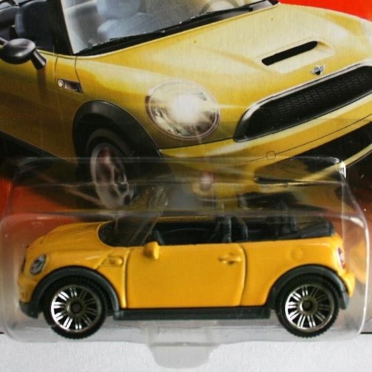 Matchbox | BMW MINI Cooper S Cabrio gelb