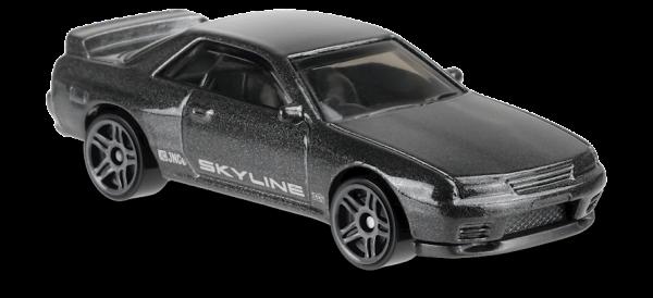 Hot Wheels | Nissan Skyline GT-R (BNR32) grey metallic