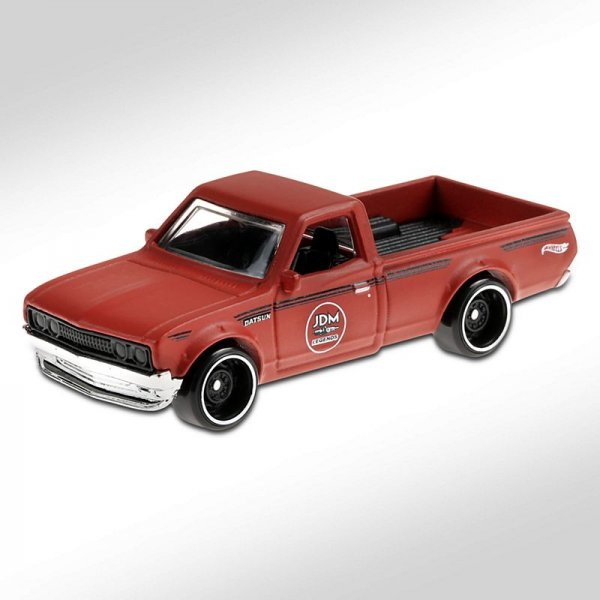 Hot Wheels | Datsun 620 Pickup JDM matt red