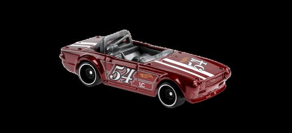 Hot Wheels   Triumph TR6 #54 bourdeauxred metallic