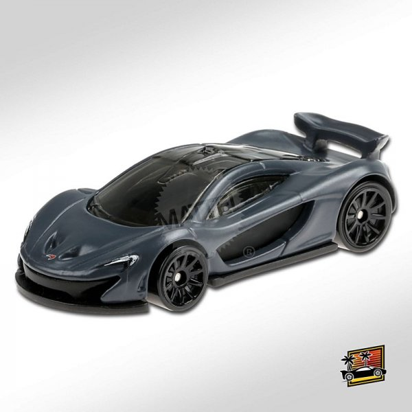 Hot Wheels | McLaren P1 dark grey