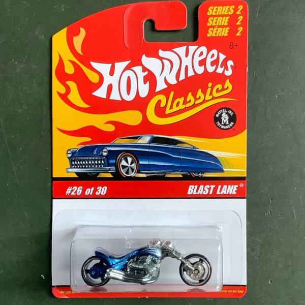 Hot Wheels | Classics Serie 2 26 of 30 Blast Lane blaumetallic