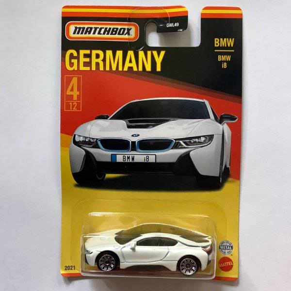 Matchbox | Best of Germany Series BMW i8 white