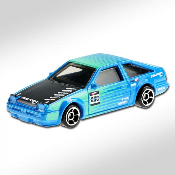 Hot Wheels | Toyota AE86 Sprinter Trueno FALKEN