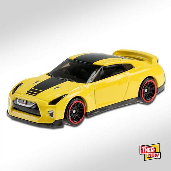 Hot Wheels | '17 Nissan GT-R (R35) yellow
