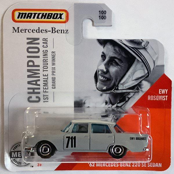 Matchbox | '62 Mercedes Benz 220 SE Sedan Ewy Rosqvist