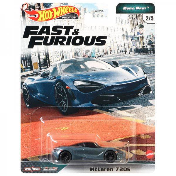 Hot Wheels   Fast & Furious Euro Fast 2/5 McLaren 720S graublaumetallic