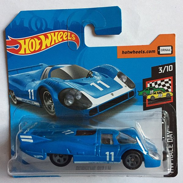 Hot Wheels | Porsche 917 LH #11 blau