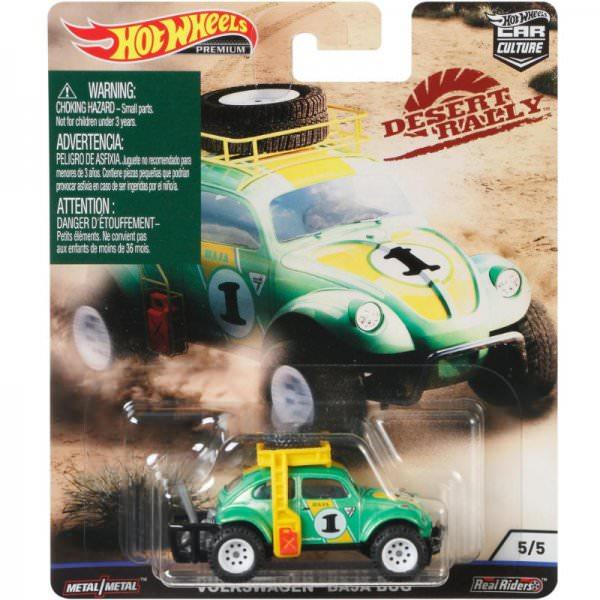 Hot Wheels | Dessert Rally 05 Volkswagen Baja Bug #1 grünmetallic