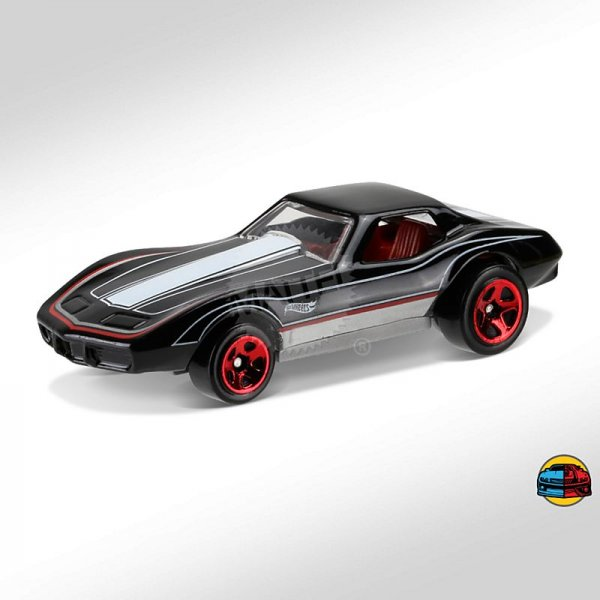 Hot Wheels | Corvette Stingray schwarz